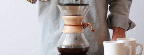 Chemex coffee maker done